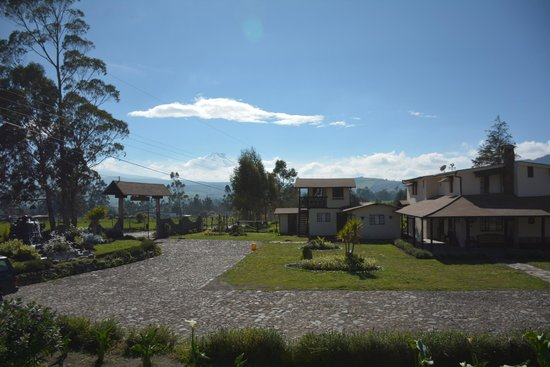 Chuquiragua Lodge & Spa : View of Cotopaxi