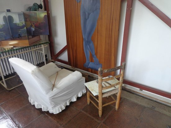 Casa-Museo de Dalí: Lugar dónde pintaba