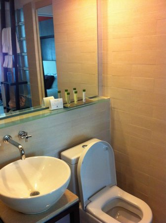 Doubletree by Hilton San Juan: sink & toilet