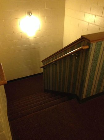 Holiday Inn Fond Du Lac: Stairway