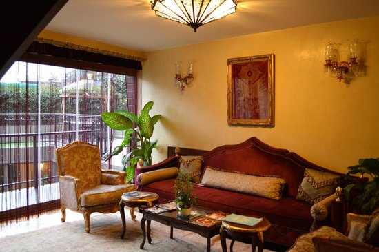 Sokullu Pasa Hotel: ソファに座ってくつろげます