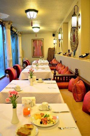 Sokullu Pasa Hotel: 朝食をとったレストラン