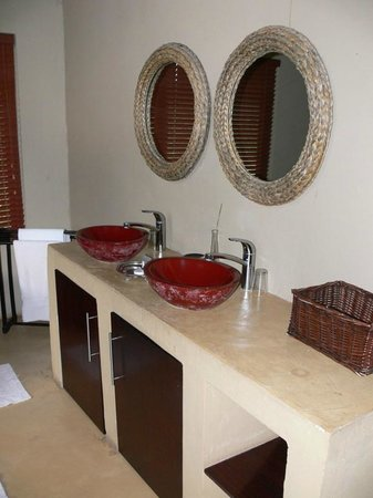 Pilanesberg Private Lodge : Fancy vanity