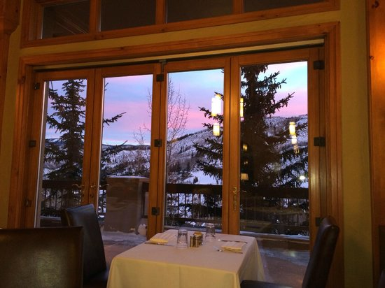 The Pines Lodge, A RockResort: Breakfast view at Pines