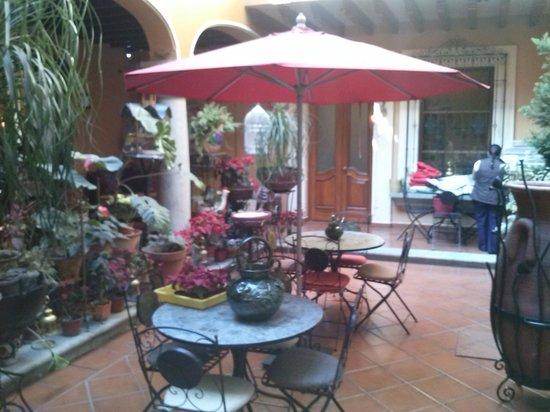 Hotel Boutique Parador San Miguel Oaxaca : Patio