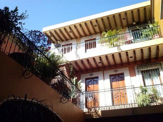 Hotel Boutique Parador San Miguel Oaxaca: Habitaciones en patio