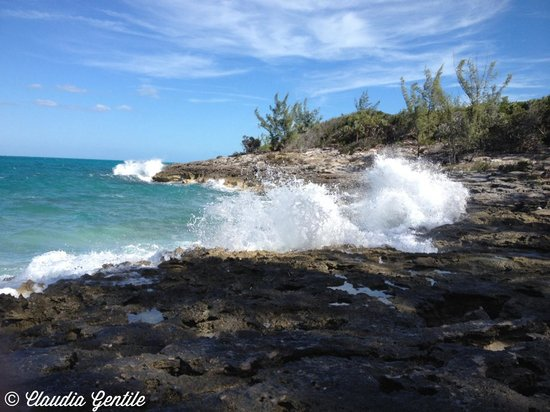 Nassau, Île de New Providence : Waves Crashing