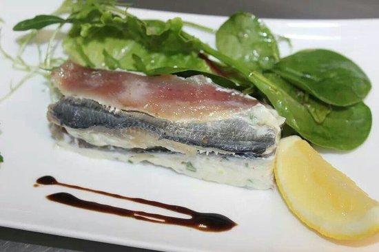 L'Ecume des Jours : Mille feuille de sardine!