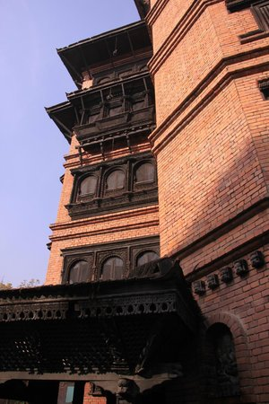Kantipur Temple House : View from the front