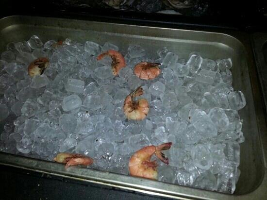 Seafood Shack of Tennessee: this pan had more shrimp till I got ahold of it huge & wonderful