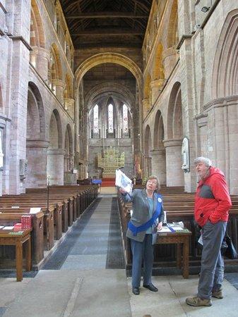 Shrewsbury Abbey: Interior