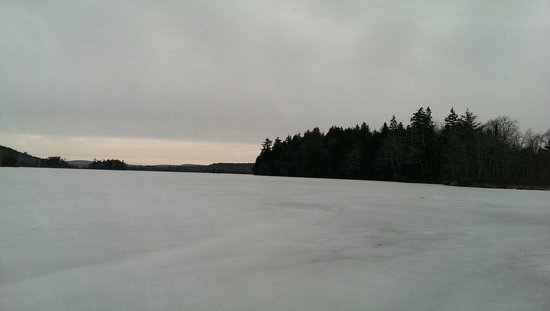 Point Lookout: Knight's pond in Winter.