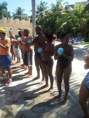 Casa Marina Reef: Juegos en la zona de la Piscina