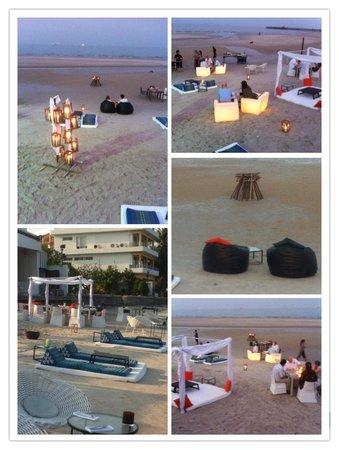 Oceanside Beach Club & Restaurant : Sunset Beach Chill out