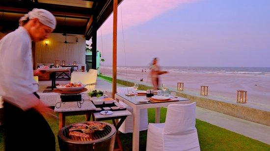 Oceanside Beach Club & Restaurant : Private BBQ