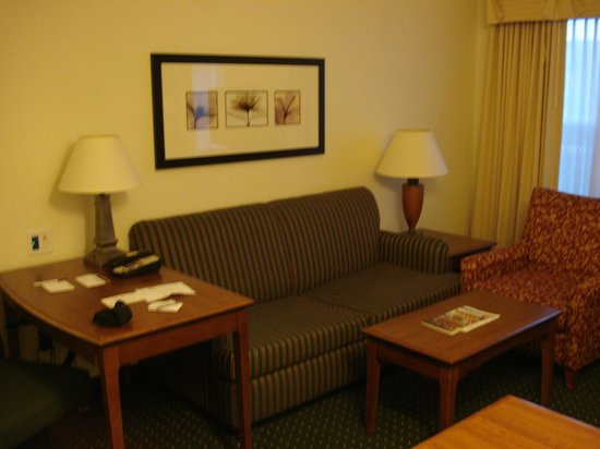 Residence Inn Denver Airport: RI Den Airport Room 106 living room