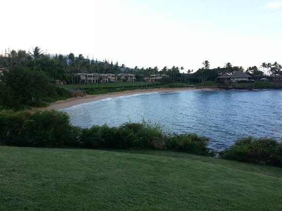 Montage Kapalua Bay: On the walk to the beach