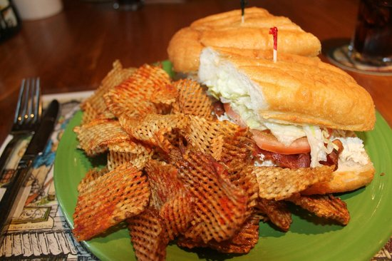 The Swinging Bridge Restaurant: Almost Famous Paint Bank sub
