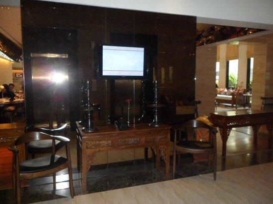 de JAVA Hotel: lift view