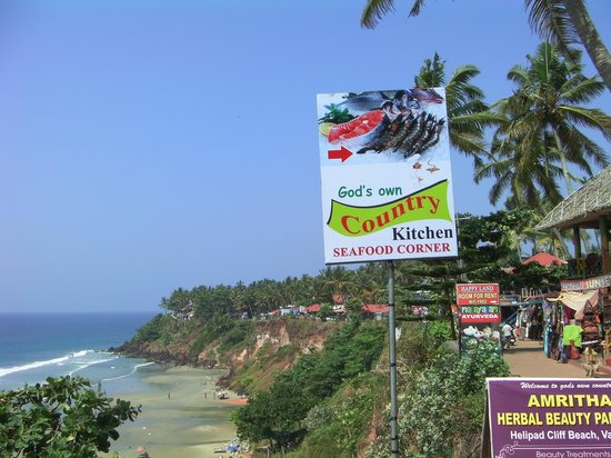 Gods Own Country Kitchen: view from out side