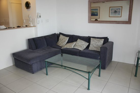 Portside Noosa Waters Resort : The only seating in living area
