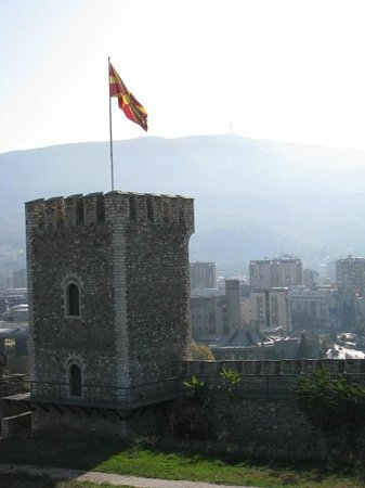 Skopje Fortress Kale: A place to fly the flag