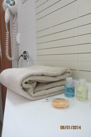Hotel TIBA : Ванная комната.