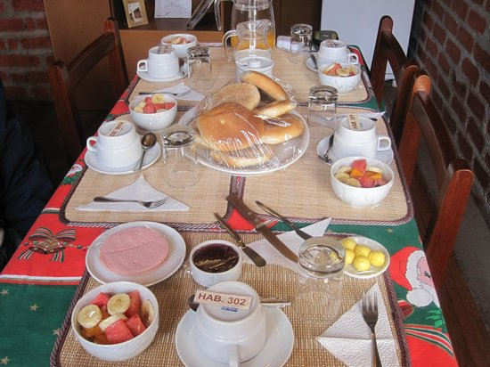 Picol Hostal: Breakfast