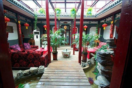 Xiao Yuan Alley Courtyard Hotel: 休闲区