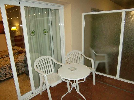 GHT Oasis Park & SPA: Наш балкончик в номере
