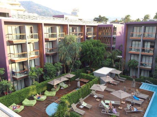 Holiday Inn Express Phuket Patong Beach Central: View