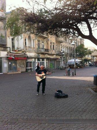 Nachlat Binyamin Pedestrian Mall: Israel-Tel Aviv-Nahalat Binyamin Street