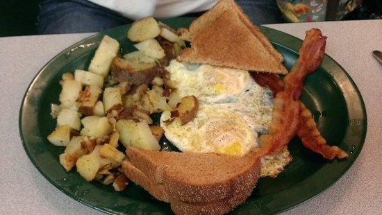 Big Daddy's Diner: Another great breakfast dish!