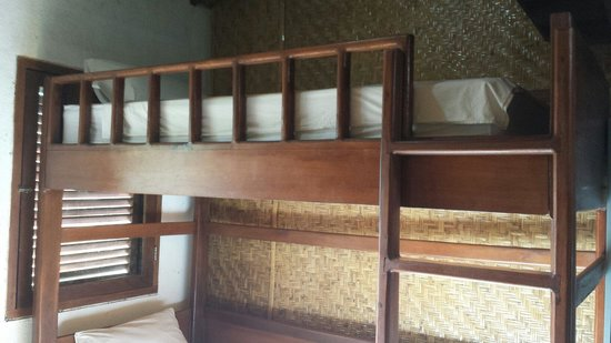 7SEAS Cottages : The bunk beds