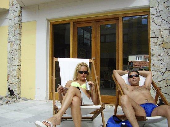 Fonte Arcada Hotel & Spa : Solarium