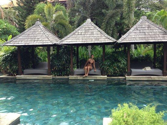Bali Garden Beach Resort: Spa Pool
