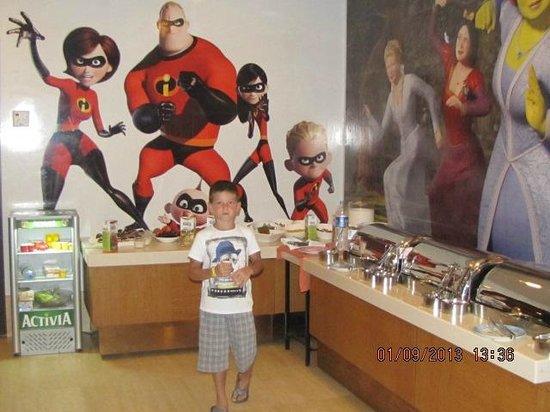 Royal Dragon Hotel : детский ресторан