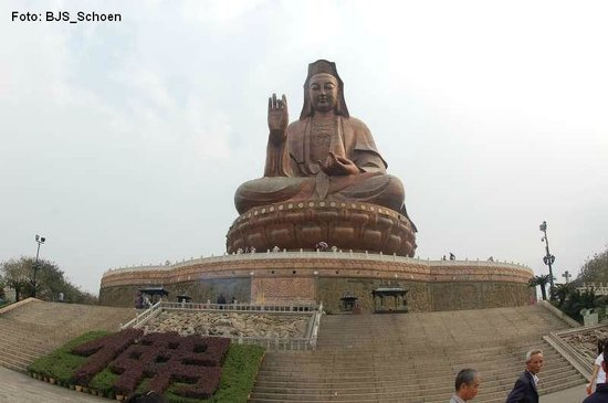 Xiqiao Mountain National Forest Park: Grosser Buddha 61,9m