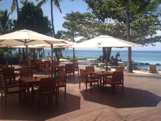 Treasure Island Resort : Outdoor dining