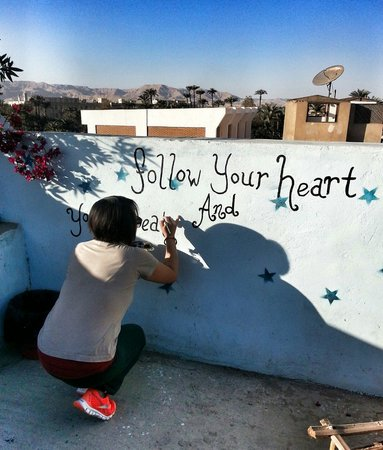 Bob Marley House Hostel: Follow your heart and you will create what you love!
