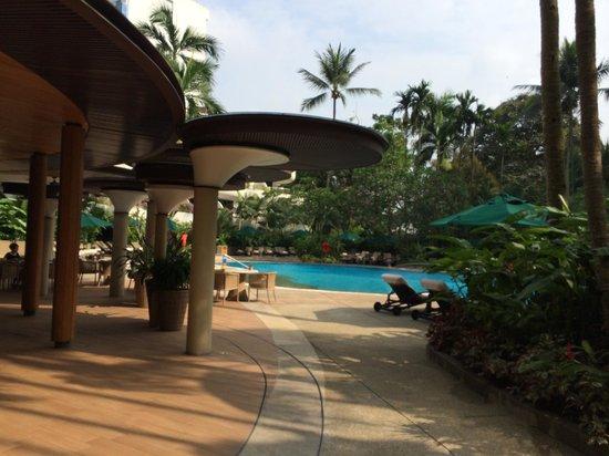 Shangri-La Hotel, Singapore : Pool View