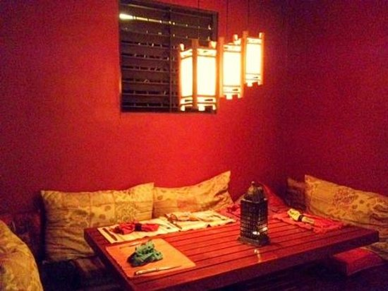 Next Course : Inside dining nook