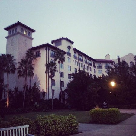 Hard Rock Hotel at Universal Orlando: View from the water taxis