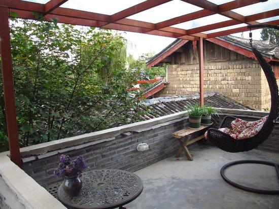 The Bruce Chalet: Private patio