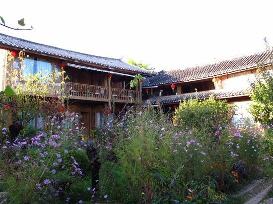The Bruce Chalet: Garden & Building