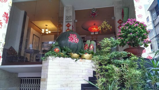 Little Saigon Corner Boutique Hotel : TET Decoration