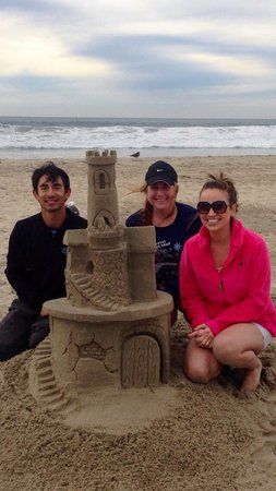 San Diego Sand Castles: JT was amazing and we had so much fun. Definitely was the highlight of our entire trip!