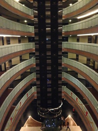 Royal Wings Hotel: вид отеля из лобби