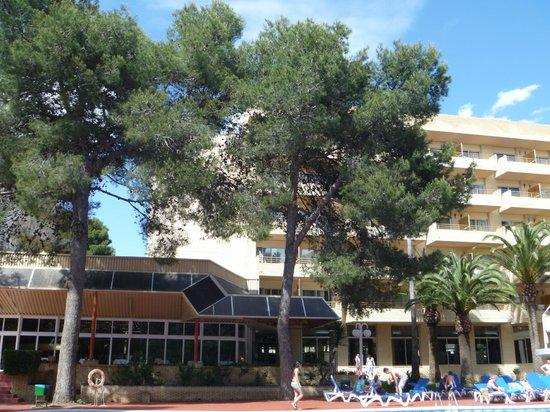 Jaime I Hotel : территория отеля