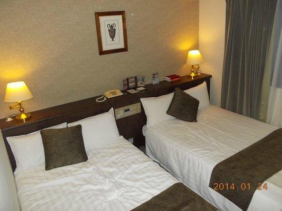 Hotel Francs: 広い部屋